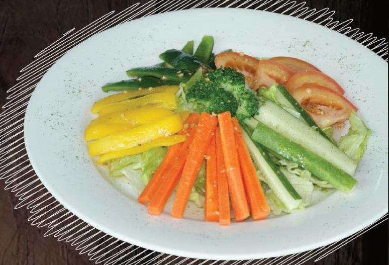 "<span style=""color: #F6931B;"">Garden Salad</span>"