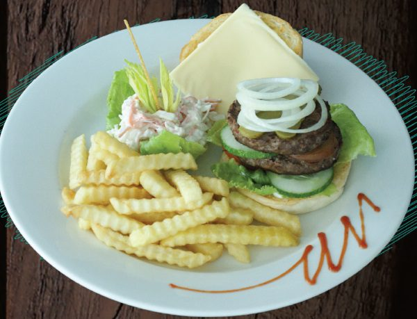 "<span style=""color: #F6931B;"">RH Burger</span>"