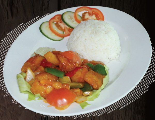 """<span style=""""color: #F6931B;"""">Sweet & Sour Fish</span>"""