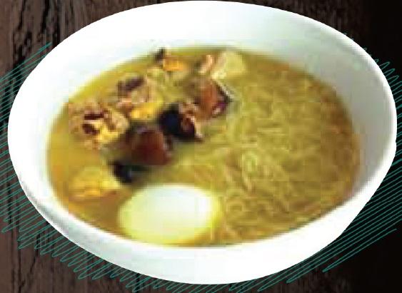 """<span style=""""color: #F6931B;"""">Foochow Longevity Noodles Soup</span>"""