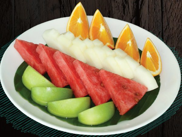 "<span style=""color: #F6931B;"">Fruit Platter</span>"