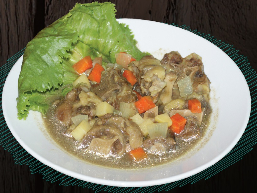 "<span style=""color: #F6931B;"">Oxtail Soup</span>"